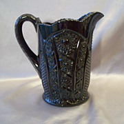 Black Indiana Tiara  Glass Monarch Beverage Pitcher