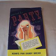 Pan Dandy Bread Advertising Party Booklet