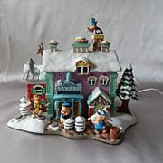 Disney Winter Wonderland The Three Little Pigs Bakery