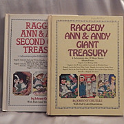 Two Raggedy Ann and Andy Giant Treasury Books