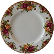 Royal Albert Old Country Roses Salad Plate England