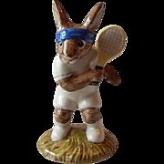 Royal Doulton Tennis Player Ace Bunnykin Figurine