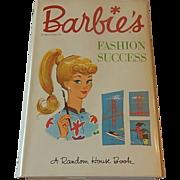 Barbie's Fashion Success A Random House Book