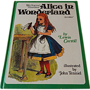 The Original Illustrated Alice In Wonderland