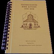 Fredricksburg Home Kitchen Cook Book 1982
