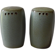 Frankoma Pottery Plainsman Woodland Moss Shakers