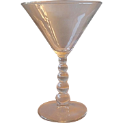 Imperial Glass Candlewick Martini Stem