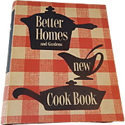 Better Homes and Garden New Cookbook 1953 1st Edition Ninth Printing