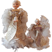Two Holt Howard Feather Angels
