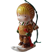Joan Walsh Anglund Little Boy Christmas Ornament