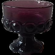 Purple Franciscan Tiffin Madeira Sherbet