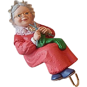 Hallmark Keepsake Mrs. Claus Christmas Stocking Hanger