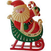 Santa Claus Christmas Tree Light Cover Ornament