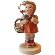 Schmid Little Girl Figurine Christmas Ornament