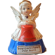 S R Ruby (Contentment) July  Angel