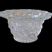 Fostoria American Mayonnaise Bowl