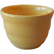 Bauer Pottery Yellow Custard