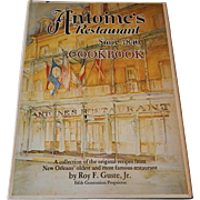 Antoine's Restaurant Since 1840 Cookbook