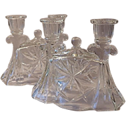 Early American Prescut Candle Holders