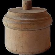 Wooden Butter Press Mold