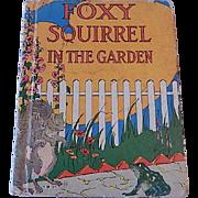 Foxy Squirrel I The Garden by clara Ingram Judson