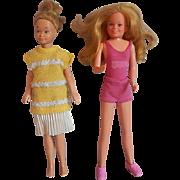 Two Mattel Dolls Skipper Dolls Philippines