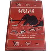 Just So Stories by Rudyard Kipling 1978