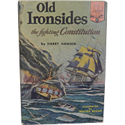 Landmark Books  Old Ironsides the fighting Constitution  #51