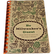 Be Milwaukee's Guest  Cookbook 1959