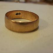 10k Rose Gold Baby Ring
