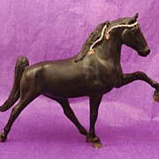 SOLD Retired Breyer Traditional Size Midnight Sun ~ Tennessee Walker Horse