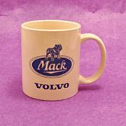 SALE Vintage MACK VOLVO Truck Sales Advertising Mug