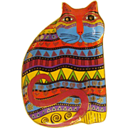 SOLD Laurel Burch For the Love of Cats Decorative Plate Limited Edition by Royal Doulton
