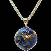 Cloisonne Pendant Necklace