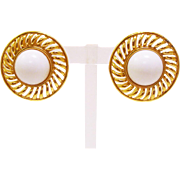 Vintage Signed Trifari Earrings