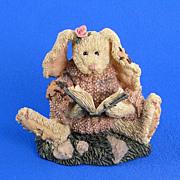 SOLD Boyds Daphne Reader Hare Bearstone Series Bunny Rabbit