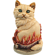 SALE Harmony Kingdom Cosa Nostra Cat Phoenix Box Figurine