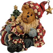 SALE Boyds Nicholas Bearyproud Christmas Bearstone Exclusive