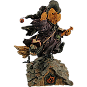 SALE Boyds Bearstone Halloween Witch Griselda Broomster ... Midnight Flight