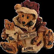 SOLD Boyds Bears Kringle and Bailey Christmas Bearstone Classic