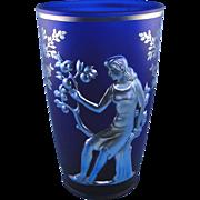 SALE Fenton Glass Seasons Favrene Vase Limited Edition Verlys
