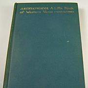 A Little Book of Western Verse, by Eugene Field, 1895