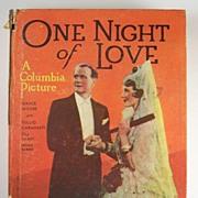 "Grace Moore & Tullio Carminati ""Little Big Book"", One Night of Love, with Illustrati"