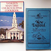 "Pair of Pamphlet Cookbooks: ""New England Favorites"" (1986); ""Yankees Main Dish"