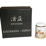 Kiyomasa Japan Thimbles of the World Collection