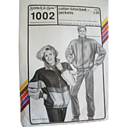 SALE Vintage Stretch & Sew Season-Spanning Unisex Jacket Sewing Pattern Multi-sized