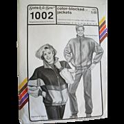 Vintage Stretch & Sew Season-Spanning Unisex Jacket Sewing Pattern Multi-sized