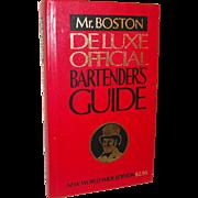 Vintage Old Mr. Boston Bartenders Guide 1978