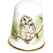 SOLD Oakley China Thimble: Thimbles of the World Collection