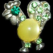 Vintage Petite Rooster Pin/Brooch